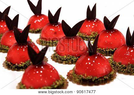 Dessert. Small Cake