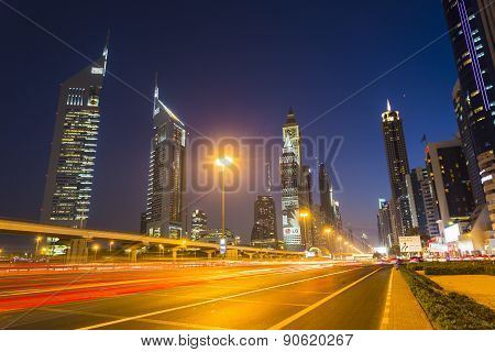 Modern Skyscrapers, Sheikh Zayed Road