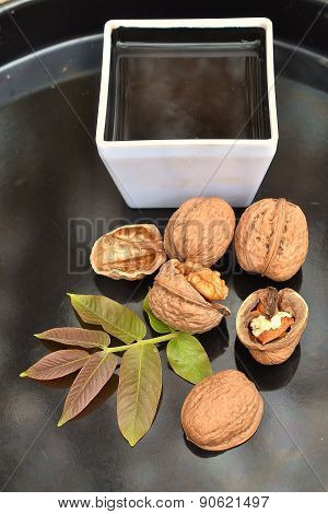 Coffee and nuts
