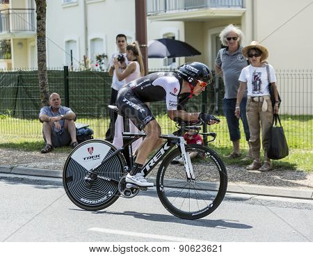 The Cyclist Matthew Busche - Tour De France 2014