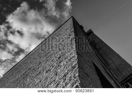 Modern Pyramid Effect Style Building