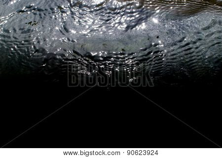 Ripples On The Surface Of Seawater