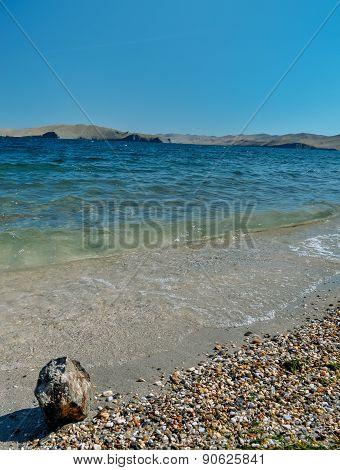 vacation on the shores of Lake Baikal
