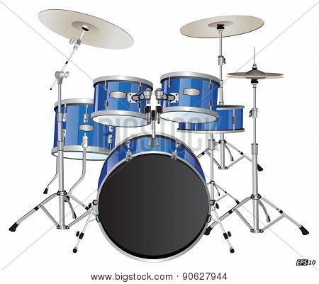 Drums or Drum set - Illustration