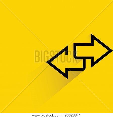 inverse arrows