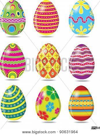 Easter Eggs - Illustration
