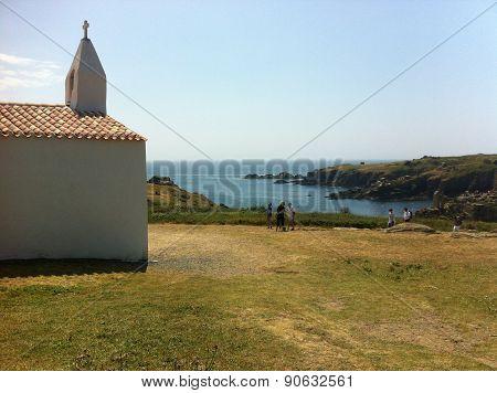 Chapel on coast