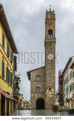 Town Hall Of Montalcino, Italy