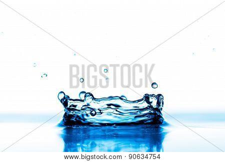 Water splashes background