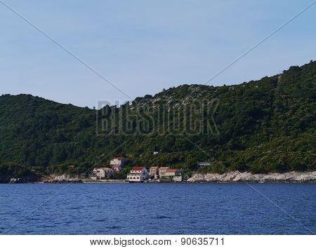 The Prozura bay of the Croatian island Mljet