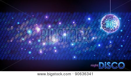 Disco Ball Background