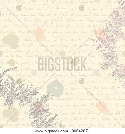 Old Letter Background - Paper
