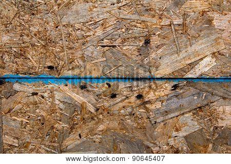 Rusty metal wall, texture