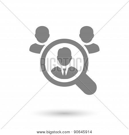 Flat Human Resources Background