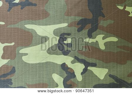 Close-up Of Military Uniform Surface