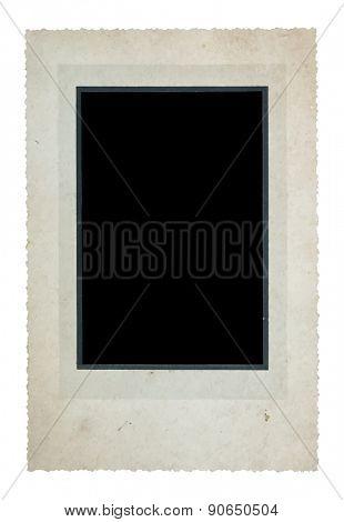 vintage cabinet photograph, vector