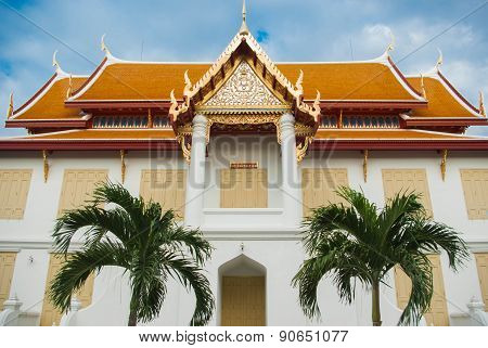 Beautiful Thai Temple Wat Benjamaborphit, Temple In Bangkok, Thailand.generality In Thailand, Any Ki