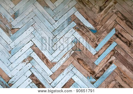 Vintage painted wooden background, vector