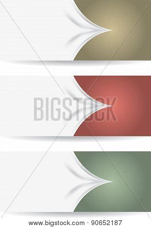 Three bookmarks