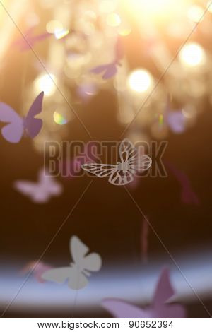 Shiny Decorative Butterflies