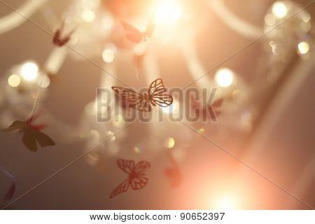 Beautiful Shiny Butterflies