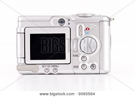 Back View Of A Camera