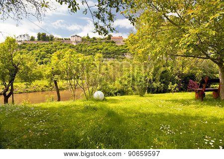idyllic park