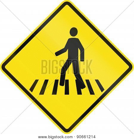 Pedestrian Crossing In Chile