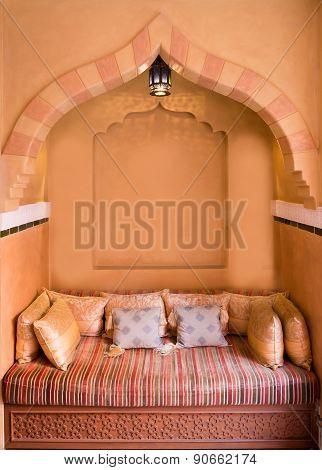 Moroccan Living-room Interior Design