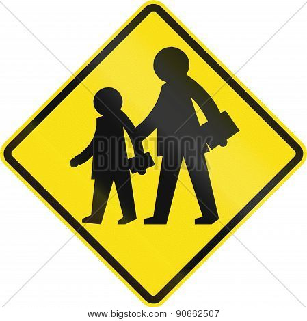 School Zone In Chile