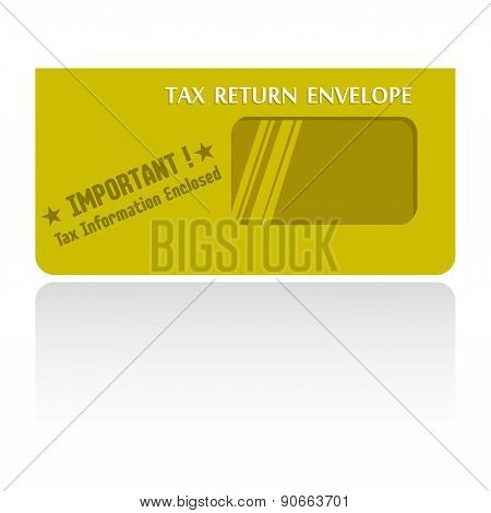 Tax return envelope