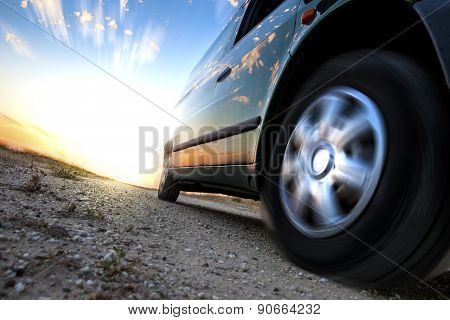 poster of Car and speed