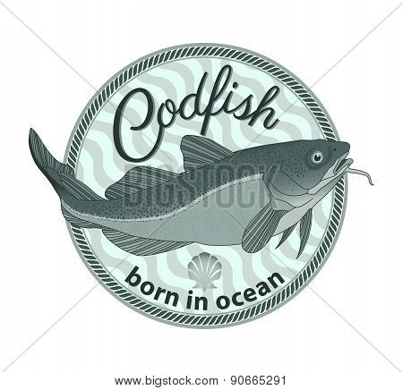 Codfish Badge