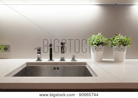 Sink In Kitchen