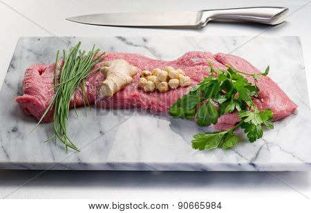 meat ready to filled