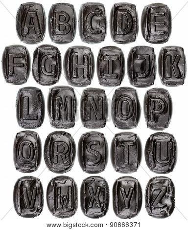 Handmade Ceramic Letters Alphabet