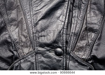 Leather And Button