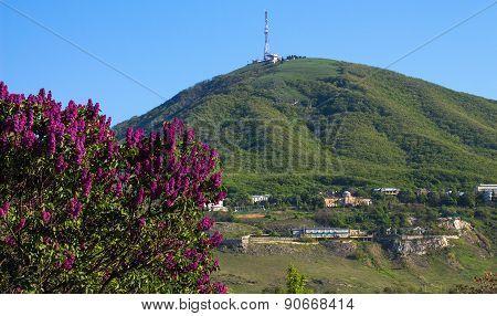 View Of The Majestic Mount Mashuk From Pyatigorsk