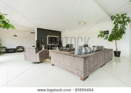Modern Interior Huge Mansion