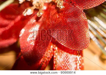 Macro Of Christmas Decorations