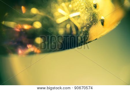 Supermacro Of Christmas Decorations
