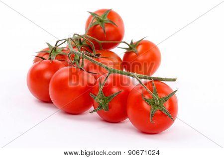 Cherry Tomato Isolated on White