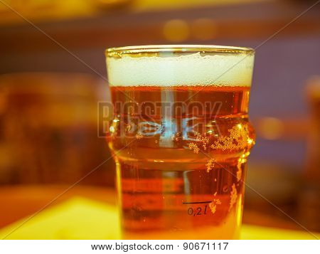 Pint Of British Ale Beer