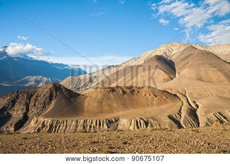 Upper Mustang Mountain Landscape, Nepal