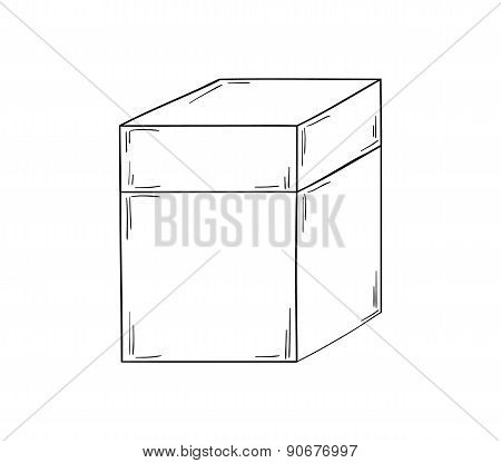 Closed Paper Box