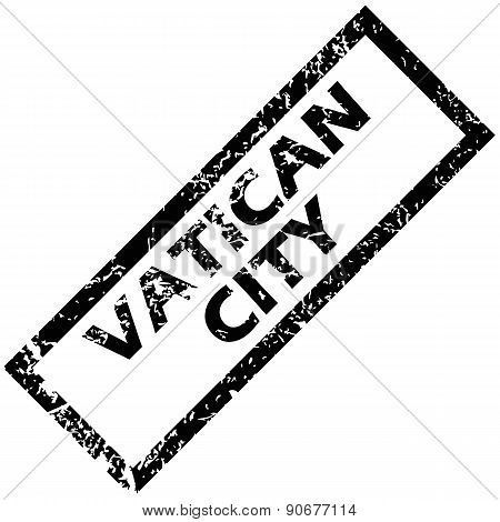 VATICAN CITY rubber stamp