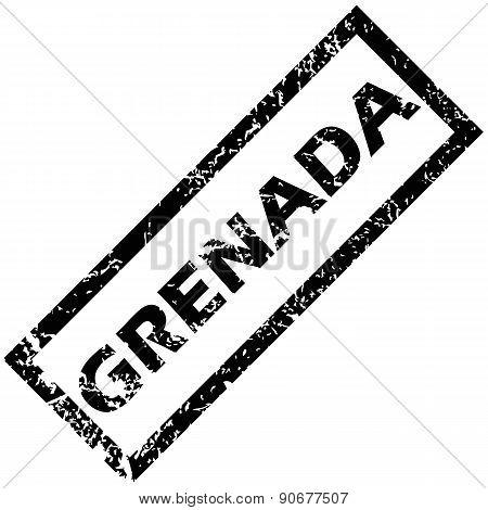 GRENADA rubber stamp