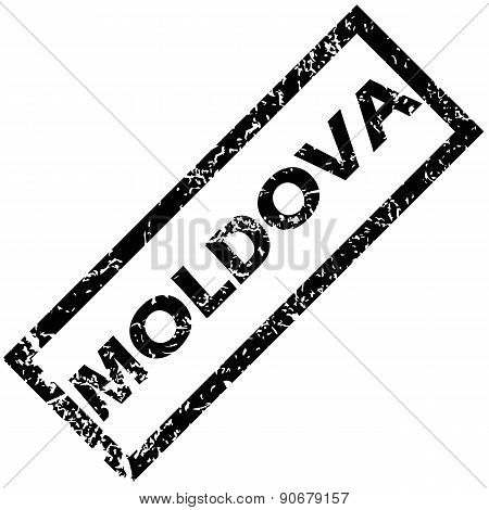 MOLDOVA rubber stamp