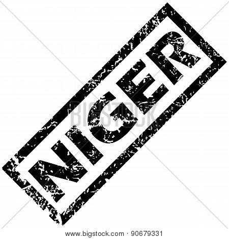 NIGER stamp