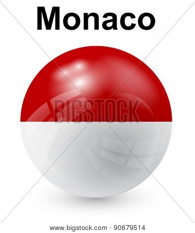 monaco official state flag